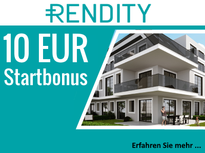 Rendity Investitionsbonus